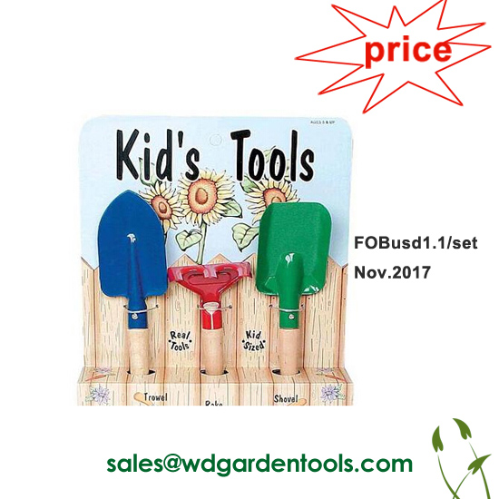 Children gardening equipment